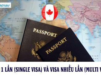 Phân biệt visa Canada 1 lần (Single visa) và visa Canada nhiều lần (Multi visa)