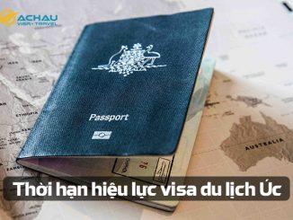 Thời hạn hiệu lực visa du lịch Úc nếu chưa đi là bao lâu?