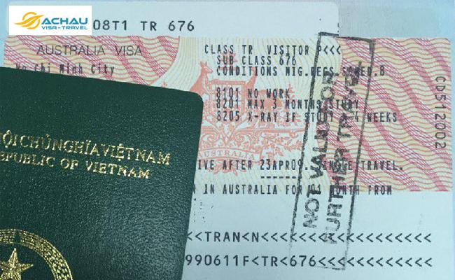 Xin visa Úc khi hộ chiếu chỉ còn hạn dưới 6 tháng được không?
