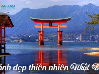Chiêm ngưỡng cảnh đẹp thiên nhiên ở Nhật Bản