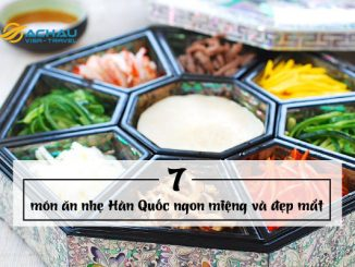 Đến Hàn Quốc thưởng thức 7 món ăn nhẹ ngon miệng và đẹp mắt
