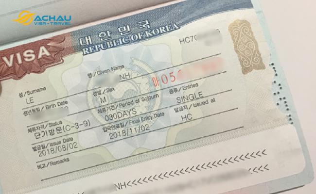 Hết hạn visa du lịch Hàn Quốc thì có gia hạn lại được không? 3