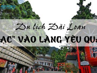 """Du lịch Đài Loan, """"lạc"""" ngay vào làng Yêu Quái"""